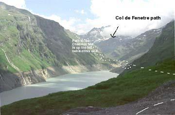 Ken baldry 39 s alpine pages mauvoisin to breuil tour 1 for Hotel col de fenetre